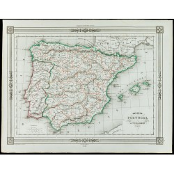 1846 - Espagne et Portugal