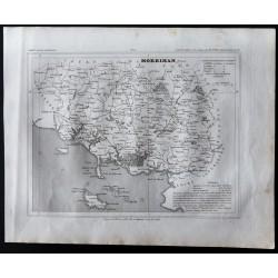 1833 - Département du Morbihan