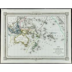 1846 - Carte de l'Océanie