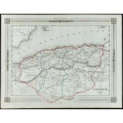 1846 - Carte de l'Algérie