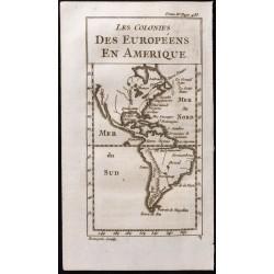 1743 - Carte de l'Amérique