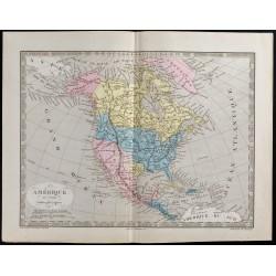 1845 - Amérique du Nord par...