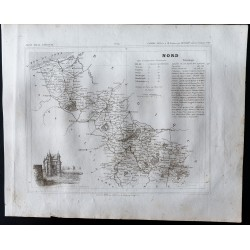 1833 - Département du Nord