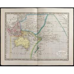 1845 - Carte de l'Océanie &...