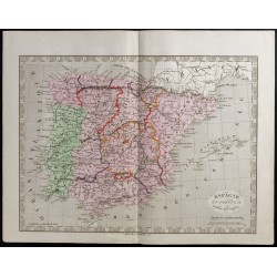 1845 - Espagne et Portugal