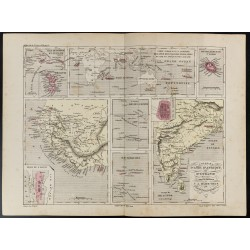1855 - Carte des Colonies...