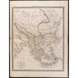 1840 - Carte de Turquie et...