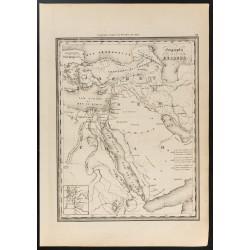1840 - Carte géographie des...