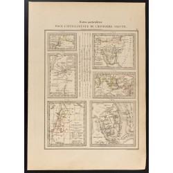 1840 - Carte sur l'Histoire...
