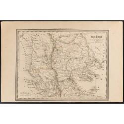 1840 - Carte de la Grèce...