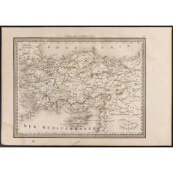 1840 - Carte de Turquie