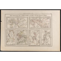 1840 - Carte histoire...