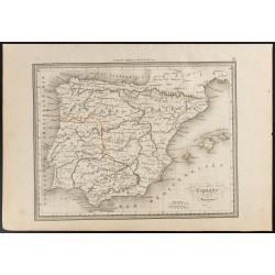 1840 - Carte de l'Espagne...