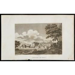 1829 - Château d'Anet