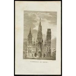 1829 - Cathédrale de Rouen