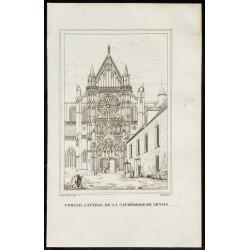 1829 - Portail latéral de...