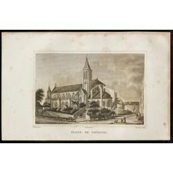 1829 - Eglise de Gonesse