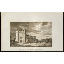 1829 - Eglise de Nantueil...