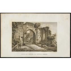 1829 - Porte du Château de...