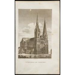 1829 - Cathédrale de Chartres