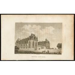 1829 - Château d'Écouen
