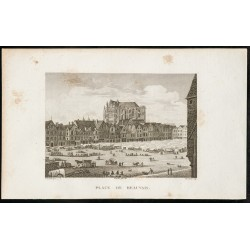 1829 - Place de Beauvais