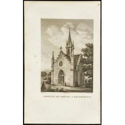 1829 - Chapelle de Gréty à...