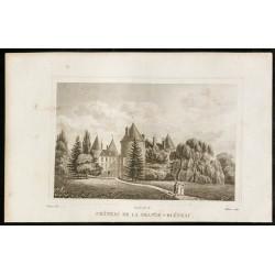 1829 - Château de la...