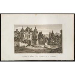 1829 - Château d'Hière près...