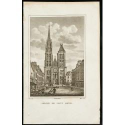 1829 - Abbaye de Saint-Denis