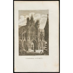 1829 - Cathédrale d'Evreux