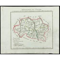 1802 - Département de l'Allier