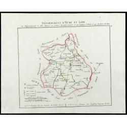 1802 - Département d'Eure...
