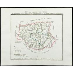 1802 - Département du Gers