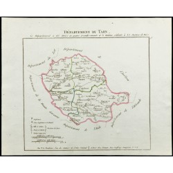 1802 - Département du Tarn