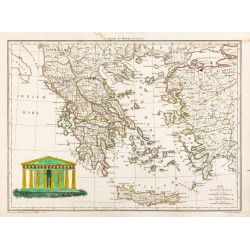 1812 - Carte de la Grèce...