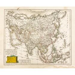 1809 - Carte de l'Asie