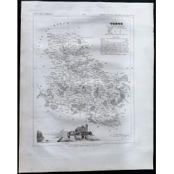 1833 - Département de l'Yonne