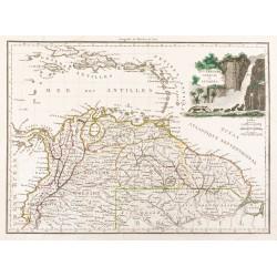1812 - Carte de la Nouvelle...