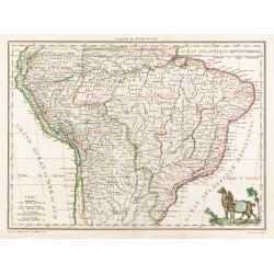 1812 - Carte du Pérou et du...