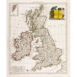 1809 - Carte des îles...