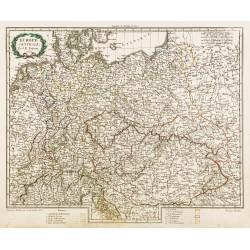 1809 - Carte de l'Europe...