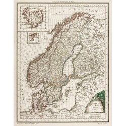 1809 - Carte de Danemark,...