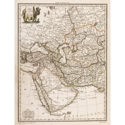 1809 - Carte de l'Asie...