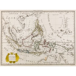1812 - Carte de l'océanie...