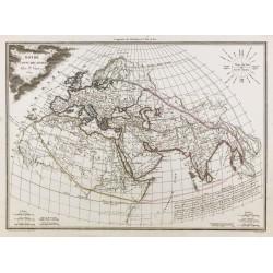 1809 - Carte Monde connu...