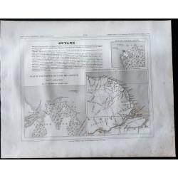 1833 - Guyane et Cayenne