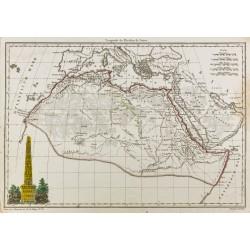 1812 - Carte de l'Afrique...