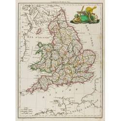 1812 - Carte de l'Angleterre