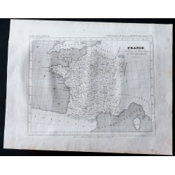 1833 - Carte des 86...